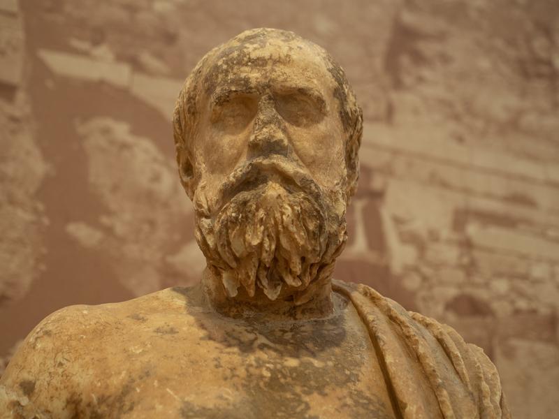 デルフィ考古学博物館の充実した展示物