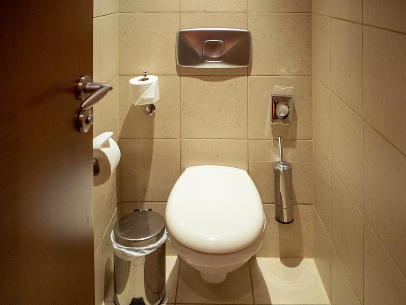 ソフィテル・アテネ・エアポートのトイレ