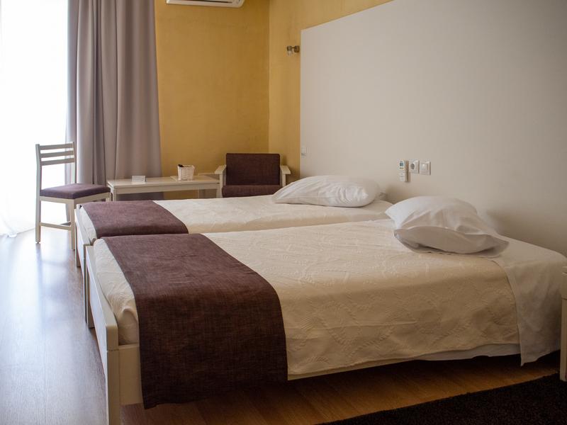 デルフィにあるニディモスホテルの客室