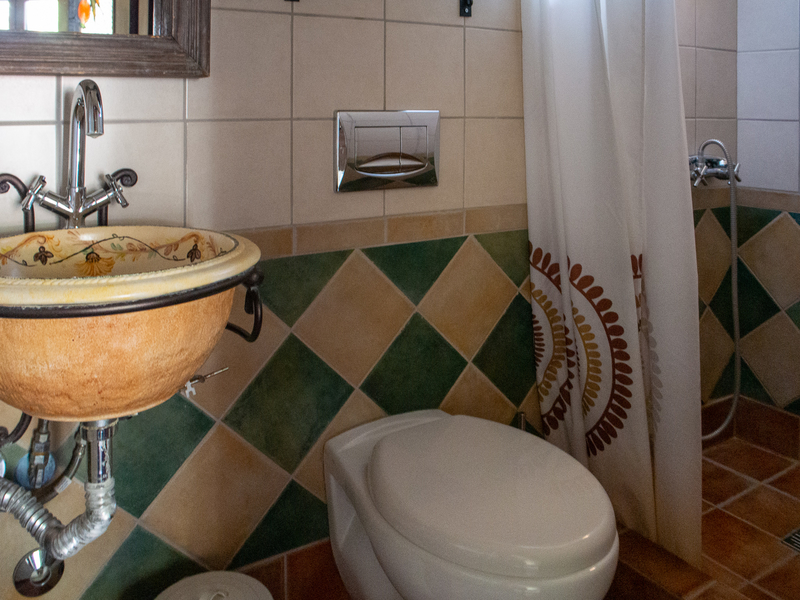 ミトスゲストハウスのバスルーム