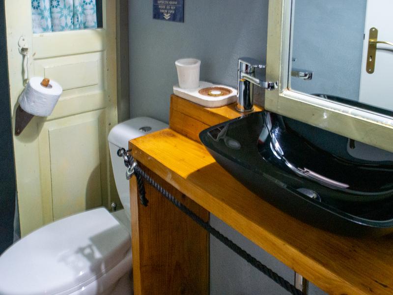 マストリスマンションのバスルーム