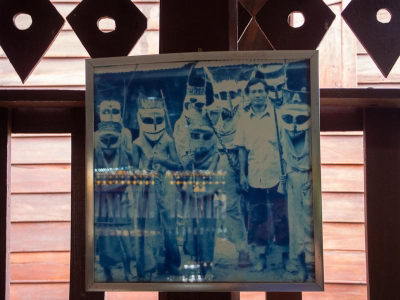 ダーンサーイのポーンチャイ寺にあるピーターコーン博物館に展示されている資料