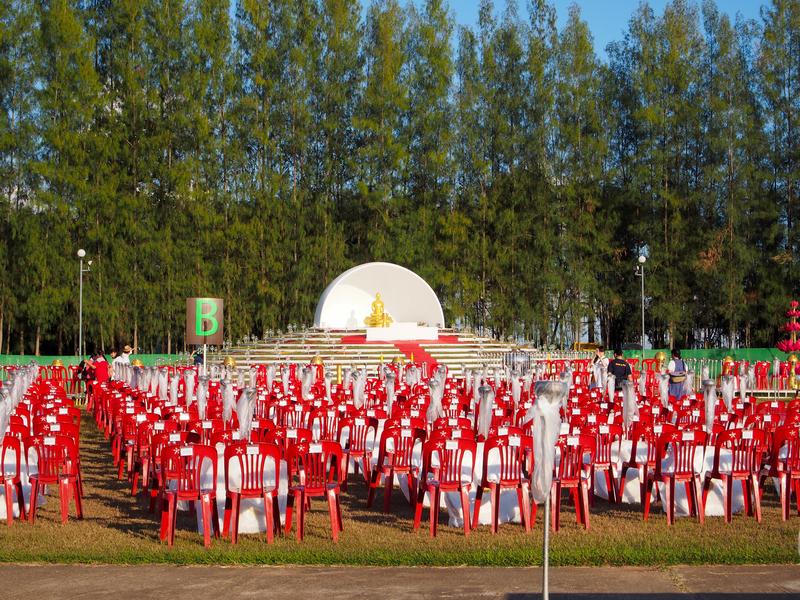 チェンマイで開催されるイーペン・ランナー・インターナショナルの会場