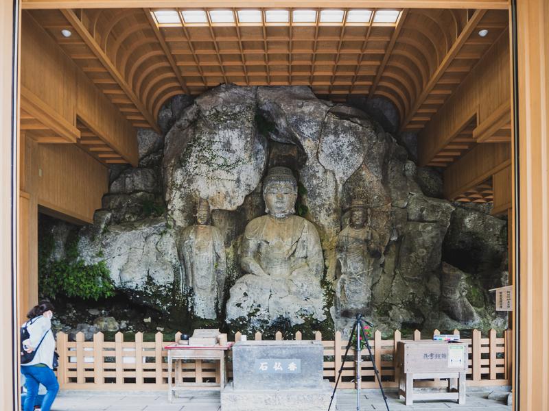 臼杵市のホキ石仏第二群