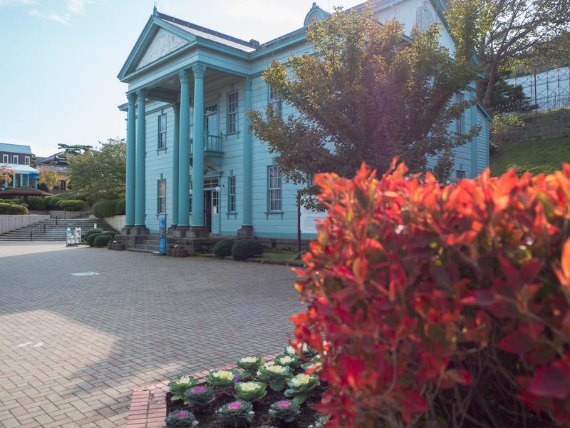 函館市の元町公園にある旧北海道庁函館支庁庁舎だった洋風の建物