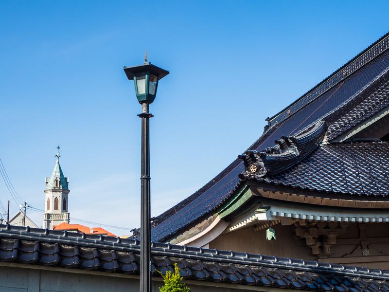 真宗大谷派東本願寺の函館別院とカトリック元町教会