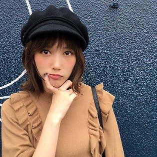 帽子姿がキュートな本田翼さん!