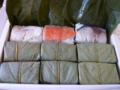 [食べ物][空弁][寿司]柿の葉寿司@機内