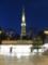 夜の名古屋テレビ塔、栄駅より