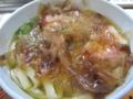[食べ物][きしめん][名古屋][駅]朝食にきしめん@JR名古屋駅7・8番ホーム