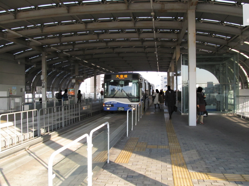 名古屋ガイドウェイバス大曽根駅