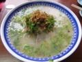 [食べ物][ラーメン]豚骨ラーメン@鹿児島