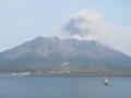 [九州][鹿児島][桜島]桜島を望む@鹿児島港
