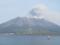 桜島を望む@鹿児島港