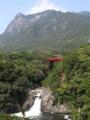 [九州][屋久島][山][滝][橋]モッチョム岳とトローキの滝