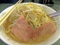 [食べ物][ラーメン][二郎]小ラーメン@二郎新宿小滝橋通店