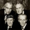 Christopher Lee, Vincent Price, John Caradine and Peter Cushing