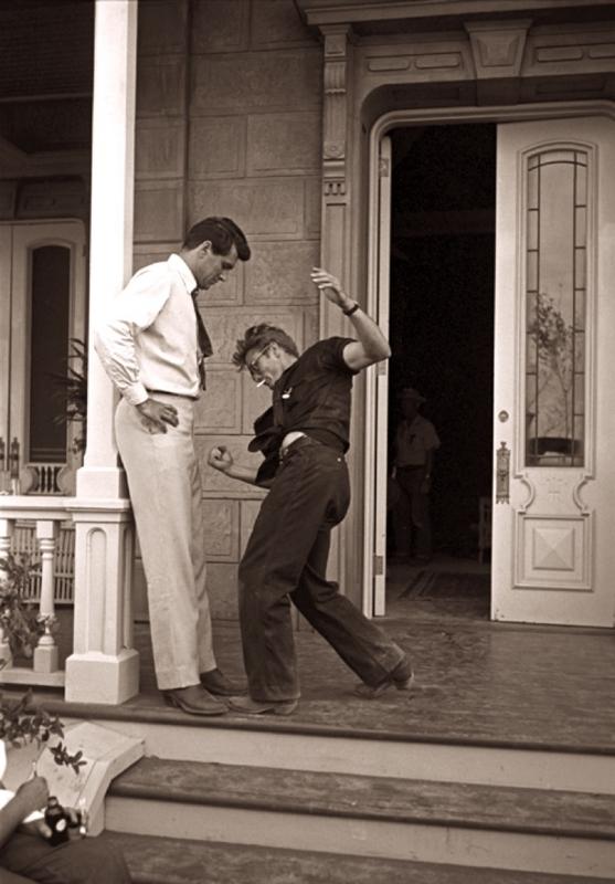 ロック・ハドソンとジェームズ・ディーン