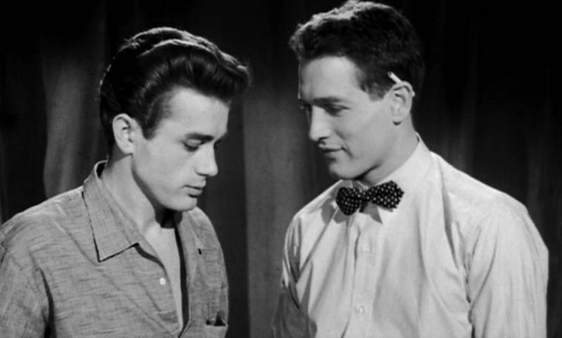 ポール・ニューマンとジェイムズ・ディーン