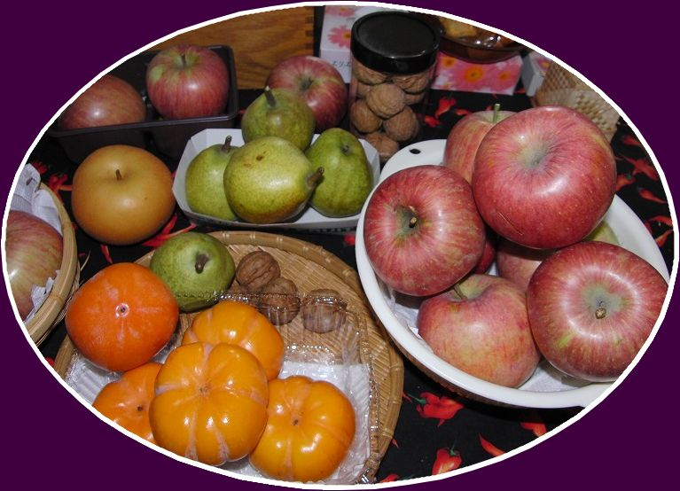 晩秋の果実