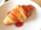 【ブログから】苺ジャムを掛けてみたクロワッサン