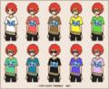 【ブログから】いろんな色のイーブルアイTシャツ