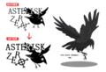 【ブログから】アステリスクとASTERISK ZEROロゴ