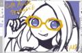【ブログから】メガネって難しい・・・!○-○