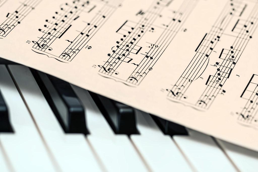 Piano Music Score Music Sheet Edited 2020