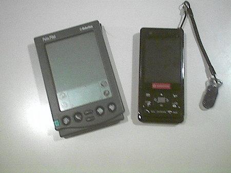 810P + Palm Pilot