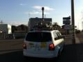 Googleストリートビューの撮影車を発見しました。