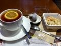 上島珈琲店のごぼうサラダを食べました。
