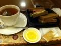上島珈琲店で昼食しました。