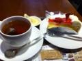 上島珈琲店のイチゴケーキを食べました。