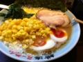 夕食は壱八家の豚骨醤油らーめんを食べました。