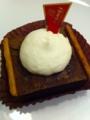 上島珈琲店の濃チョコレートケーキを食べました。