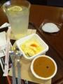 上島珈琲店で昼食してます