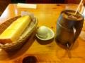朝食はコメダ珈琲店のモーニングサービスです。