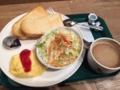 PRONTO 高田馬場店でチーズオムレツを食べてました。