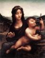レオナルド・ダ・ヴィンチ「糸巻きの聖母」