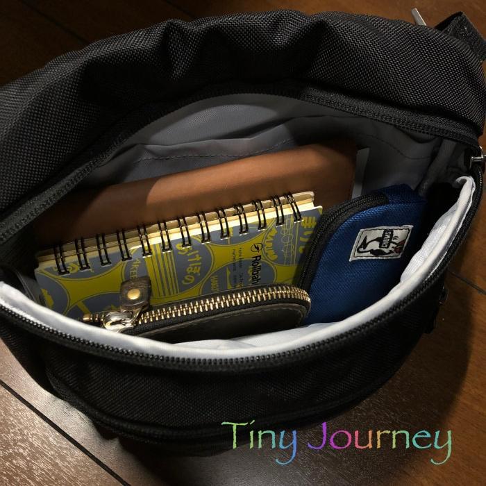小さいバッグに収まるロルバーン