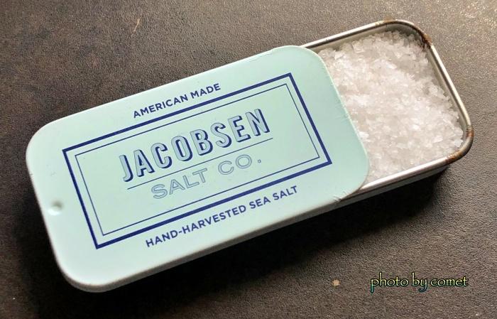 タブレット缶に入った塩