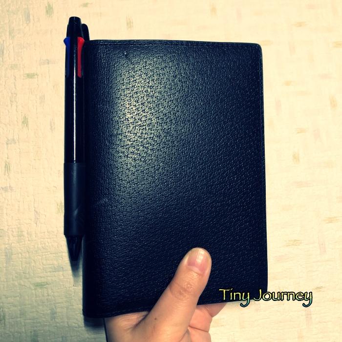 黒革のほぼ日手帳カバー『TRAVEL』