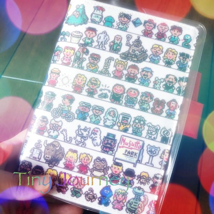 ほぼ日手帳のmother2 CASTのカバー