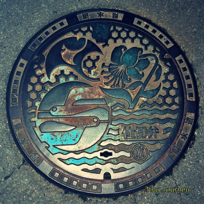 箱根のマンホール