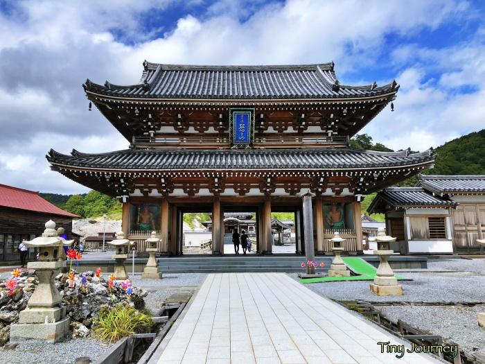 恐山菩提寺の門