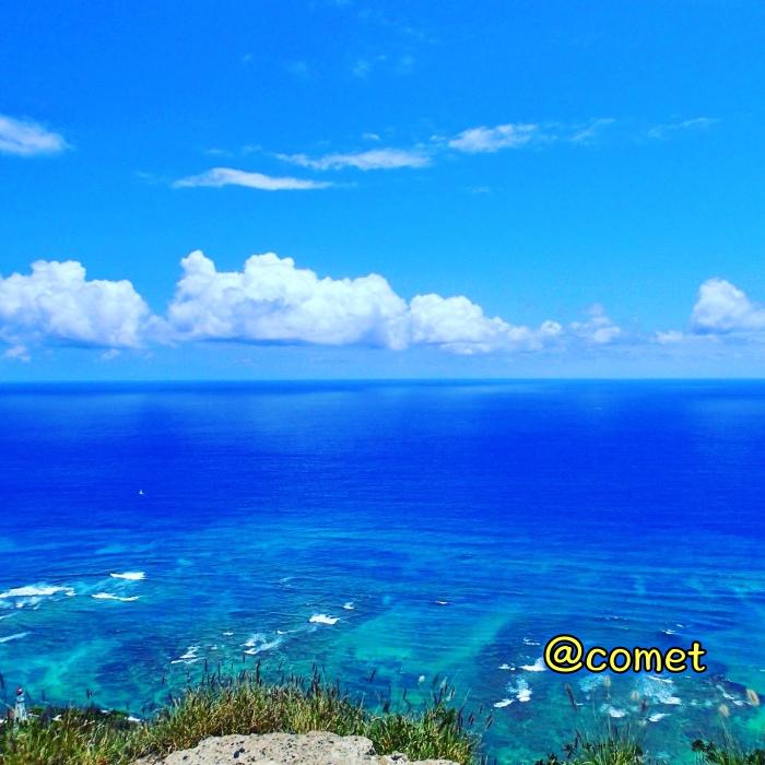 ハワイで見た海