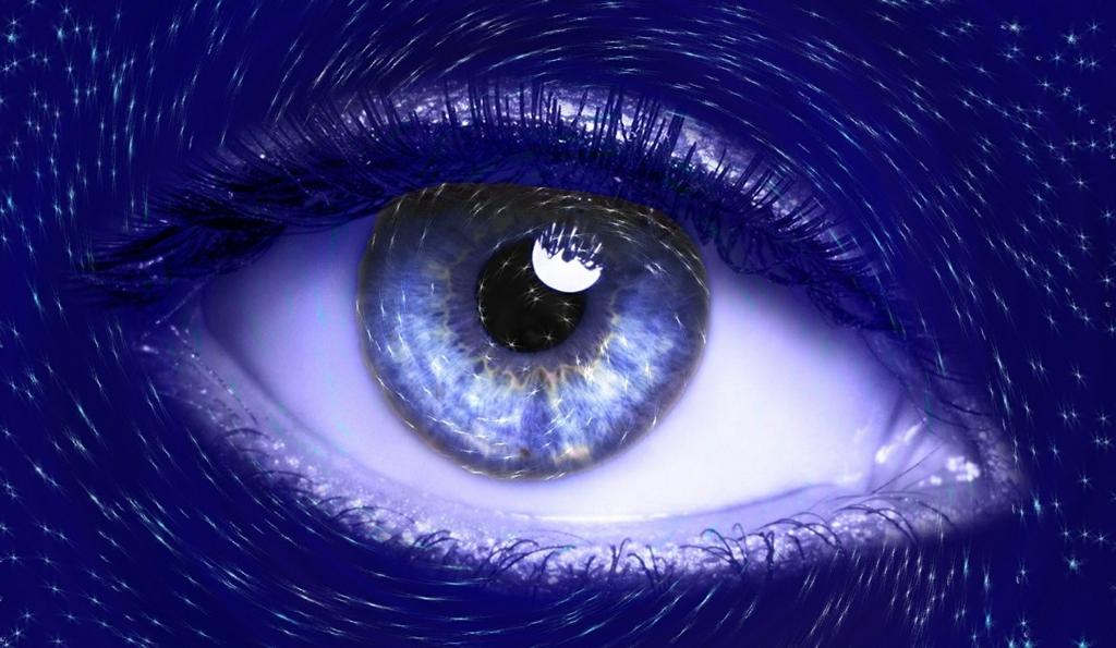 引き寄せをイメージする目のイメージ