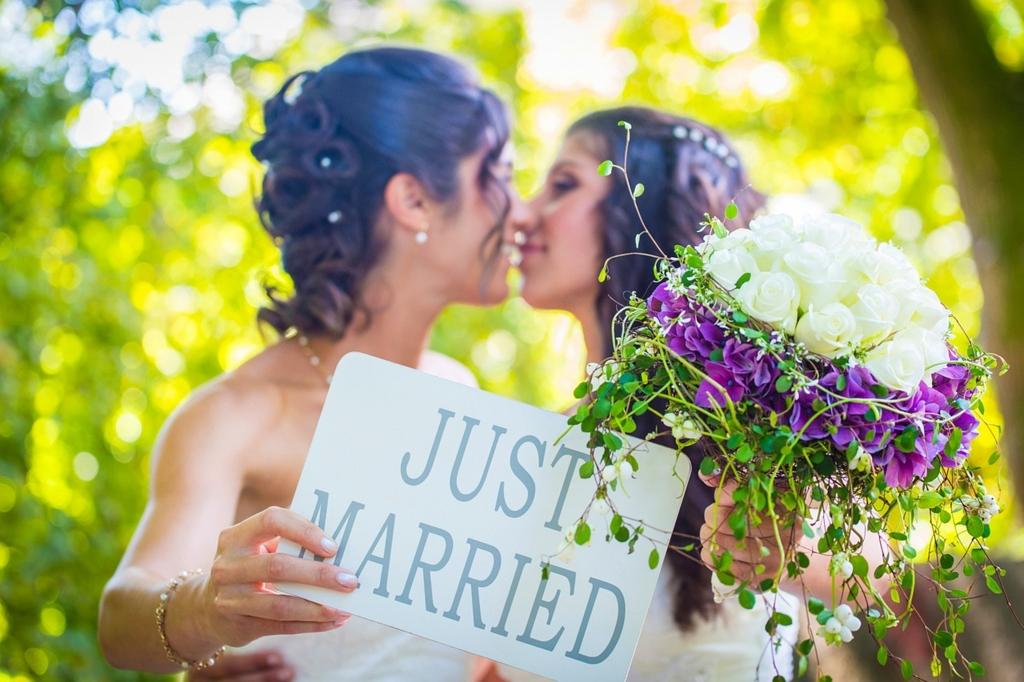 レズビアンの結婚