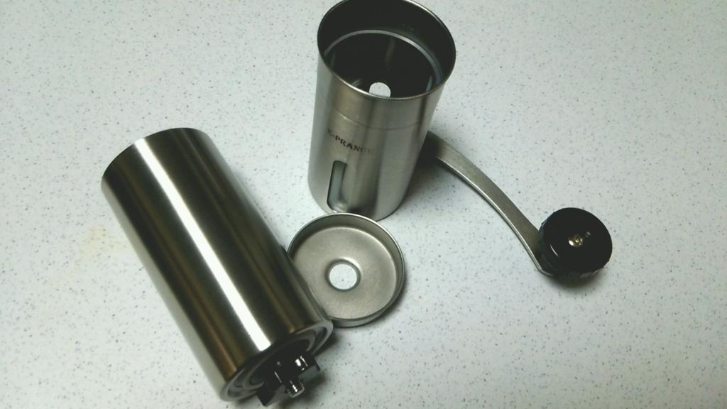 E-PRANCE® 手挽きコーヒーミル セラミック ステンレス コーヒーミル手動分解